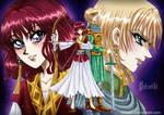 Warrior Princesses by heiseihi