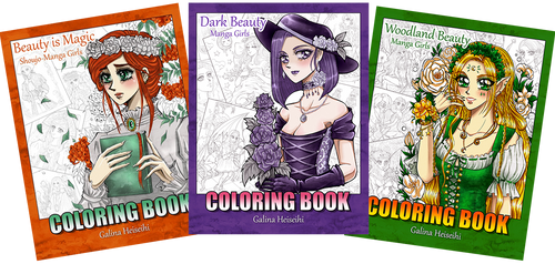 Coloring Books by heiseihi