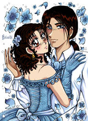 Maria and Hulio by heiseihi