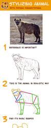 Stylizing Animal Tutorial by pangketepang
