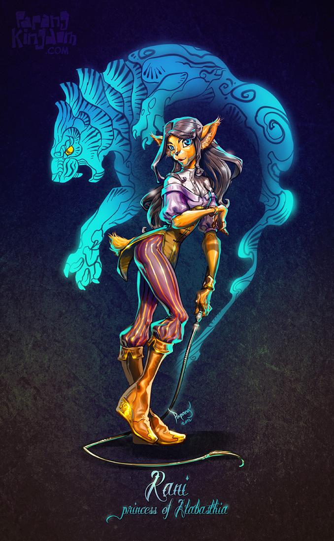 Rani - Princess of Alabasthia by pangketepang