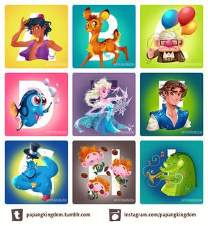 Disney A-Z