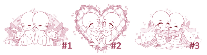 valentines day chibi ych [ open! ] by MikkuAdopts