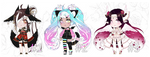stress relief chibi adopts III ( 1 / 3 open! ) by MikkuAdopts