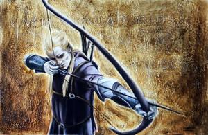 L'archer de Mirkwood by gwendyyd