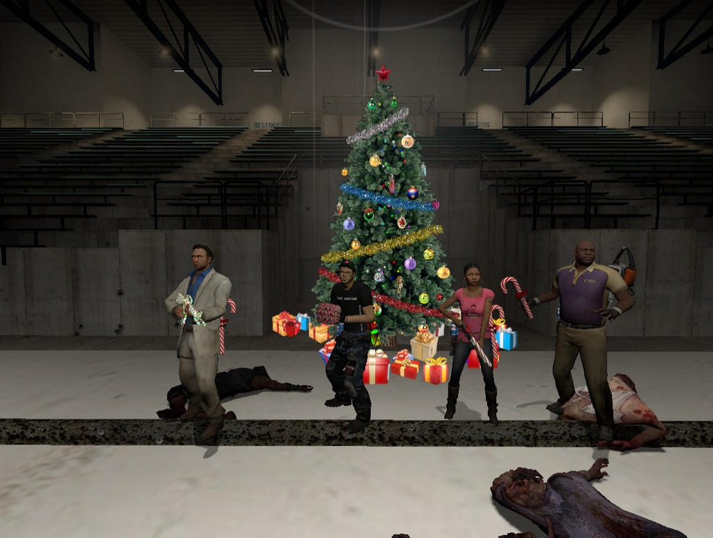 Left 4 Dead 2 Christmas by AngelWings16