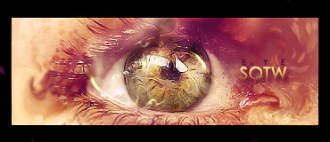eye signature by Artush