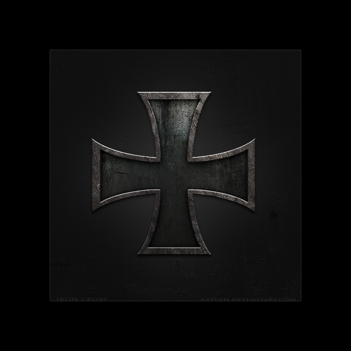 This is a graphic of Massif Iron Cross Drawing