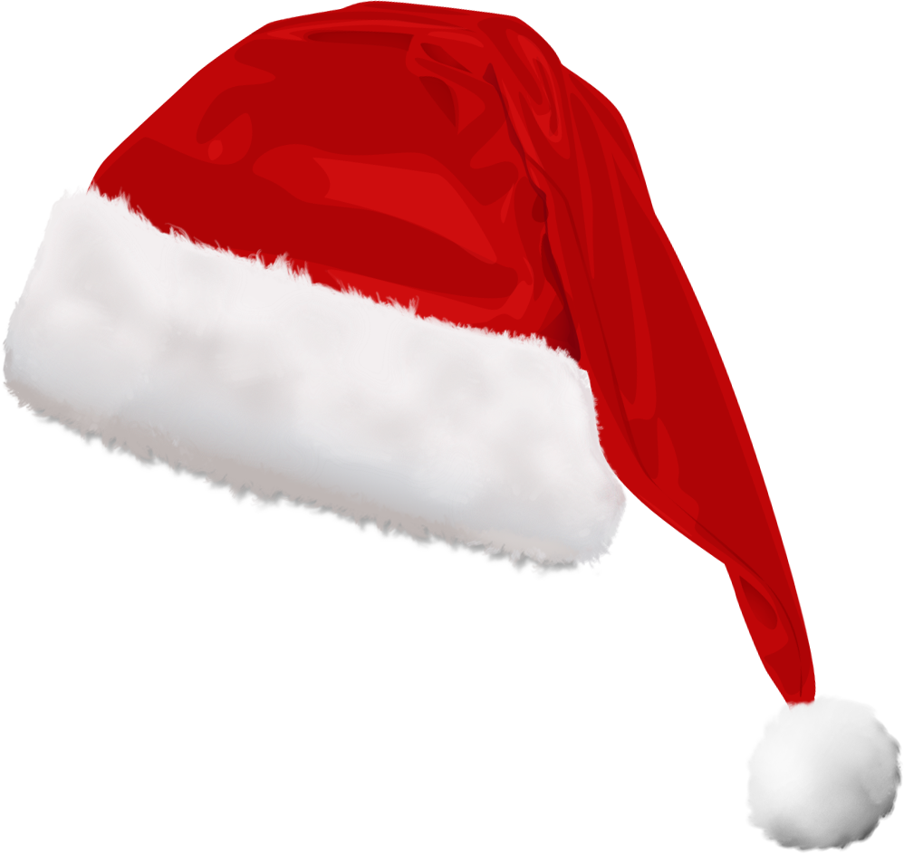 christmas santa hat clipart - photo #34