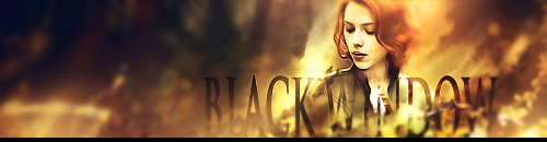 Black widow signature by Artush