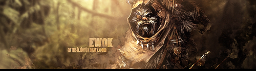 Ewok by Artush
