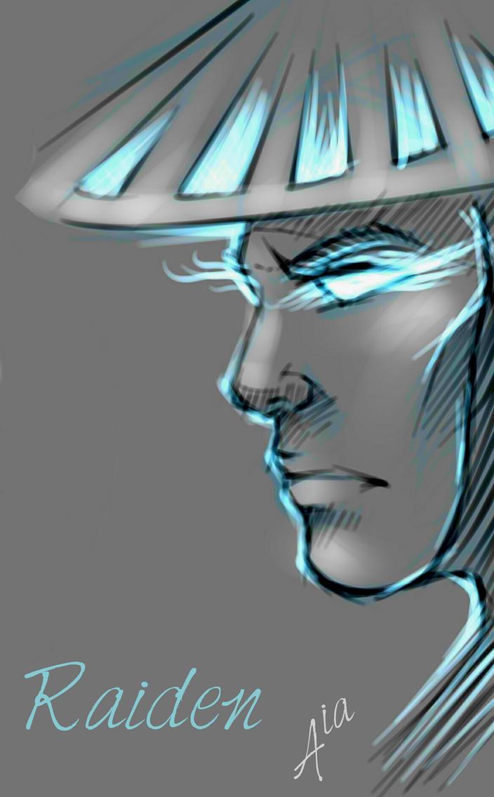 Mortal Kombat Raiden Drawings Raiden sketch, Mortal ...