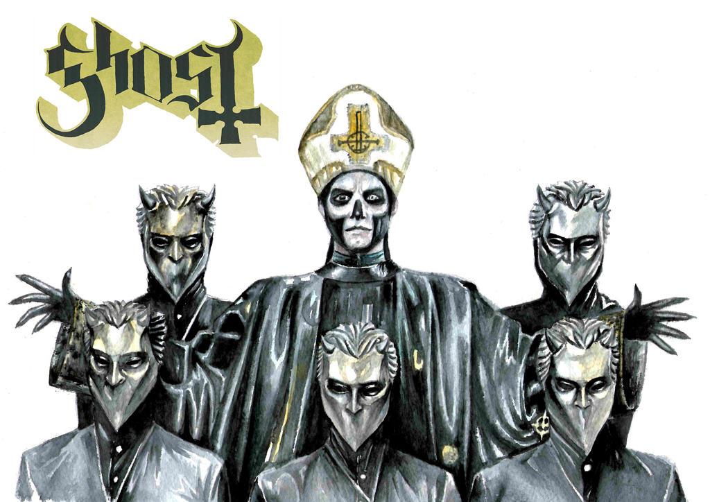 Resultado de imagen de ghost band 2015