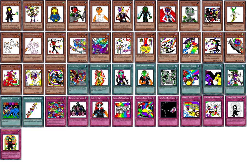 Yugioh - Smiley Starter Deck 45 Cards. by TattooedTeabag ...