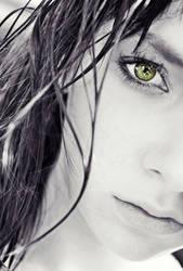my green eye by Maryncia