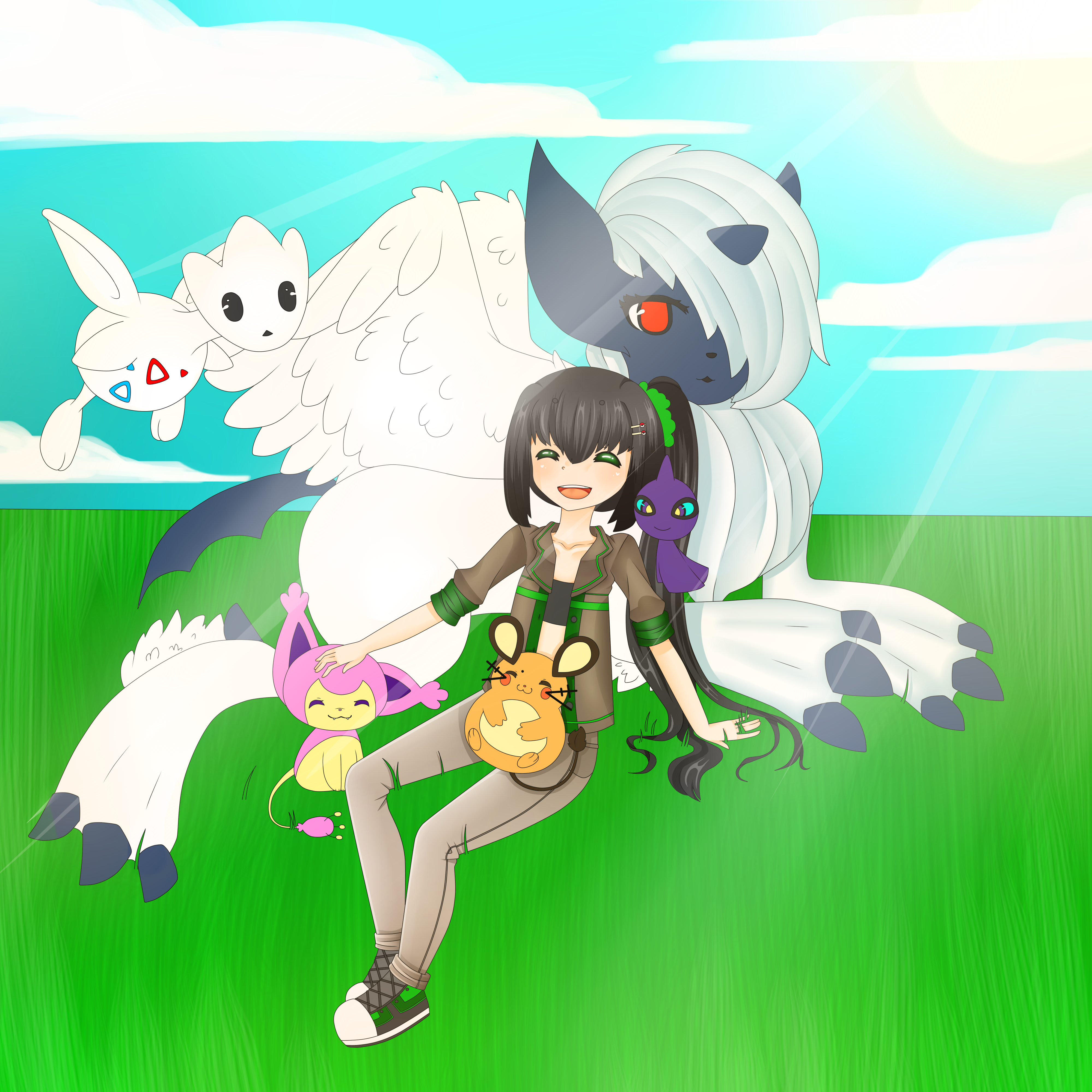 pokemon contest//not finished lol by Mellow-bunnii