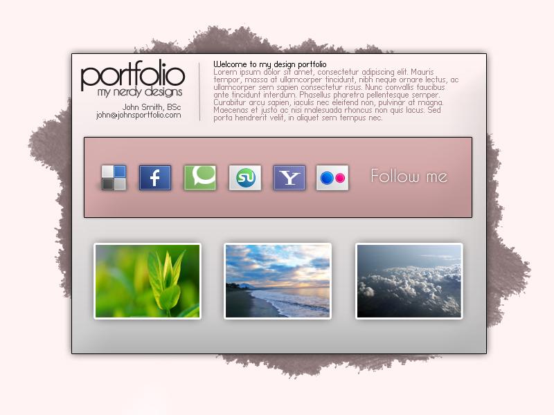 portfolio template free