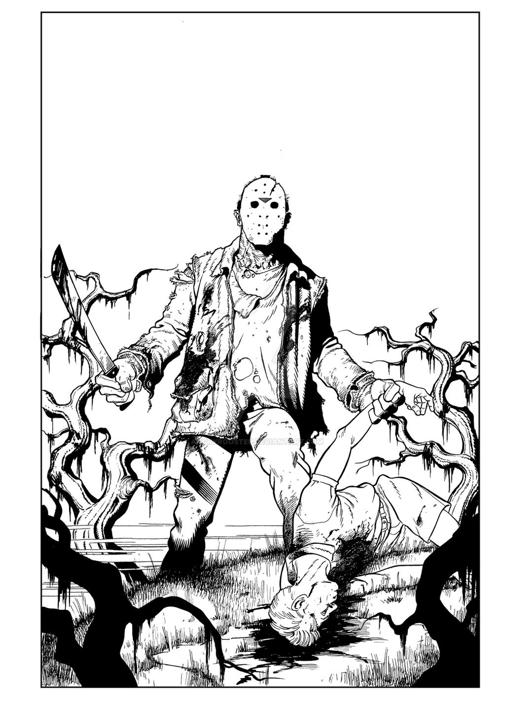 Jason Voorhees by angryrooster on DeviantArt