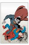 Bizzarro superman color fun