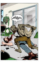 Zombie attack incolor by angryrooster