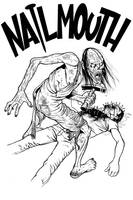 Nailmouth inks by angryrooster