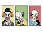 clowns colored