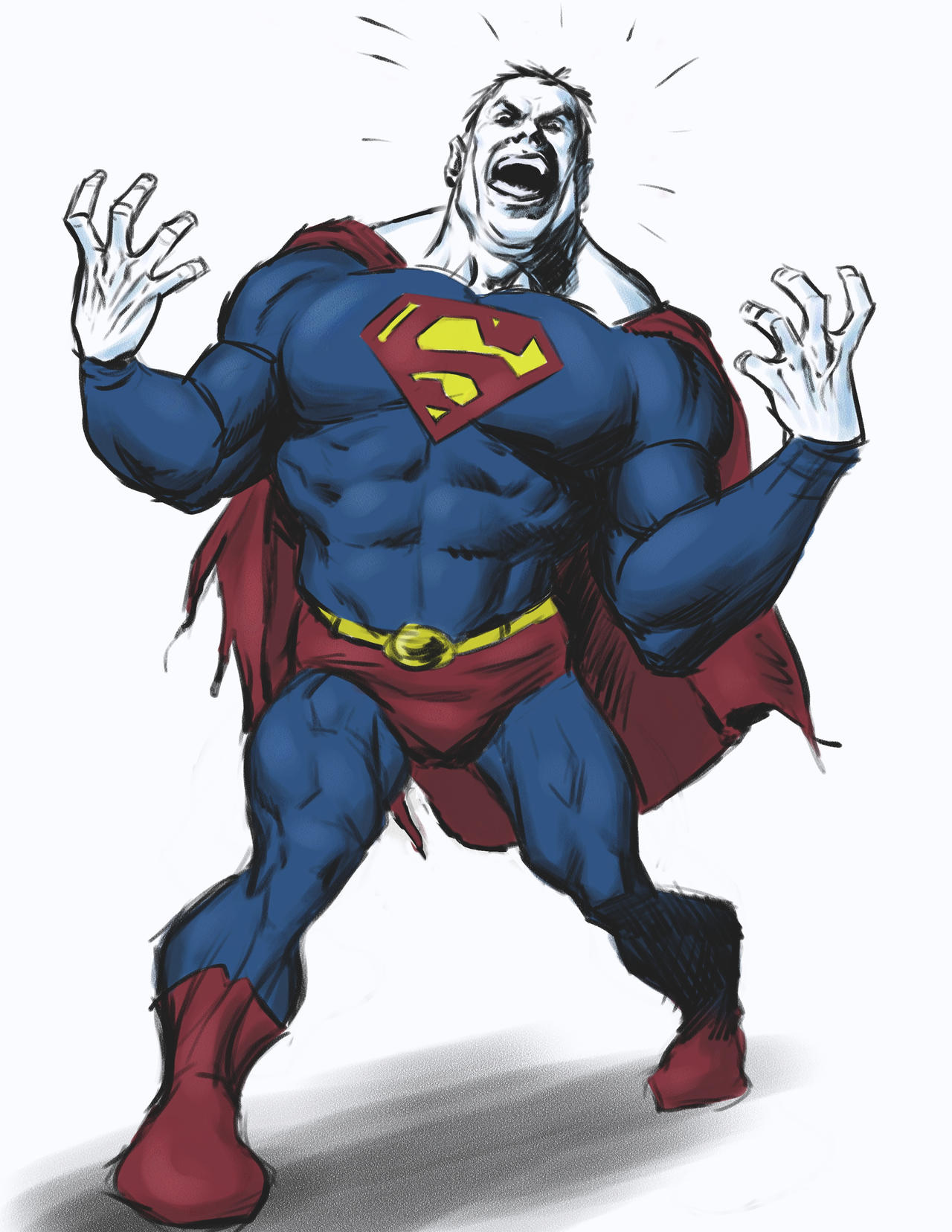 A Bizarro done in painter 2 by angryrooster
