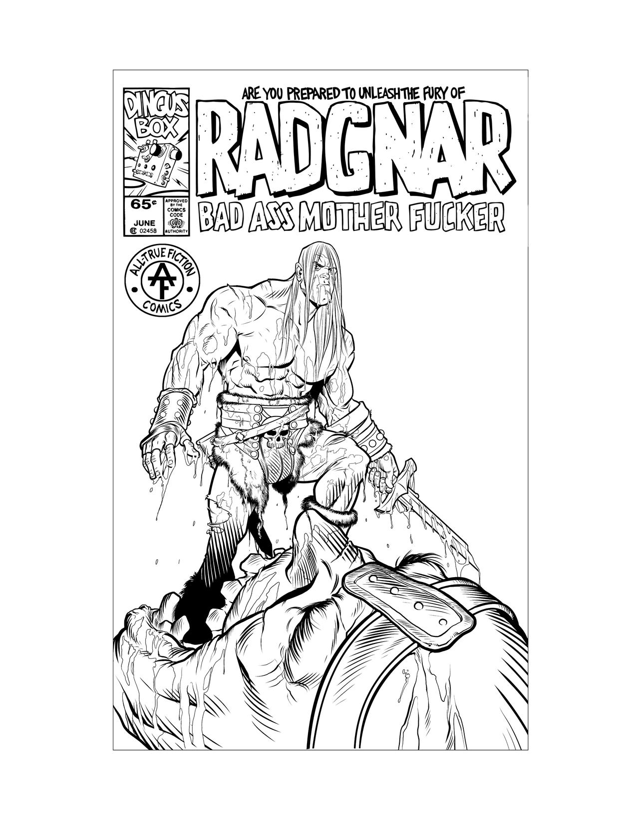 Radgnar the giantkiller inked by angryrooster