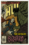 Bizarro vs Hulk Aged