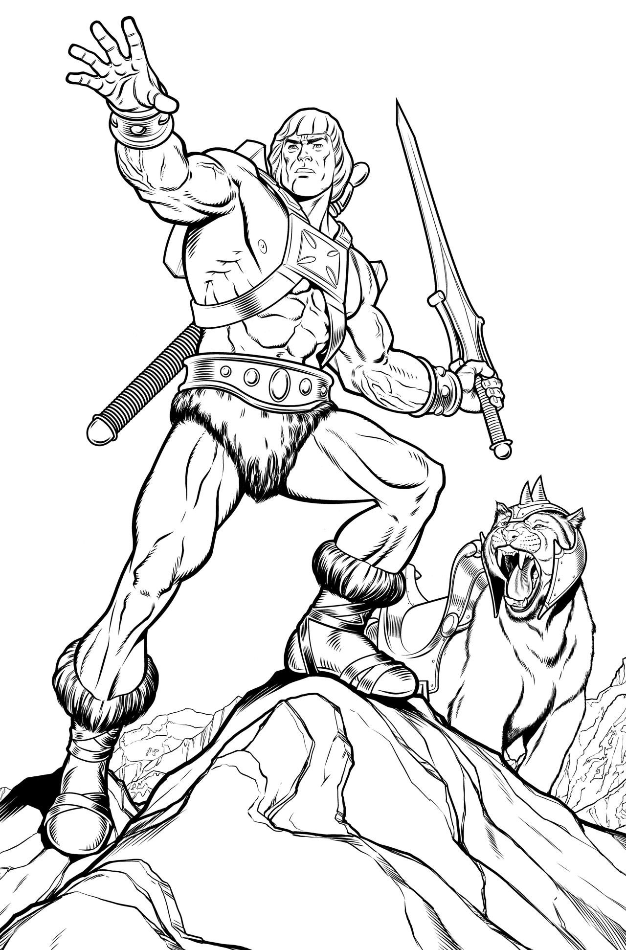 Wolfman coloring pages - digitalspace.info