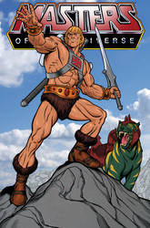 He-Man! In Color! by angryrooster