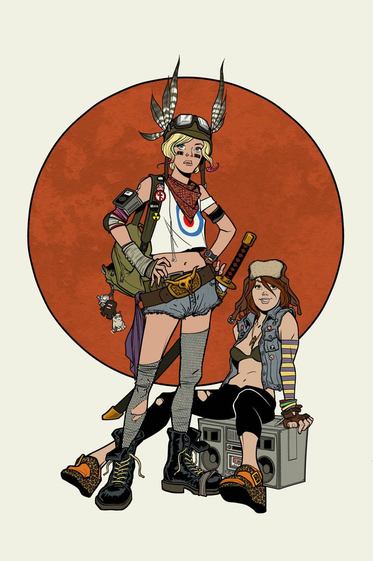 Apocalypse girls colored