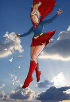 Supergirl!! by angryrooster