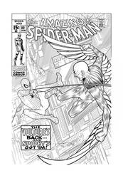 Spidey Vs. The Vulture INKED
