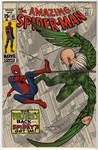 Spidey vs. The Vulture colored