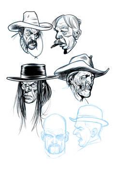 Cowboy doodles