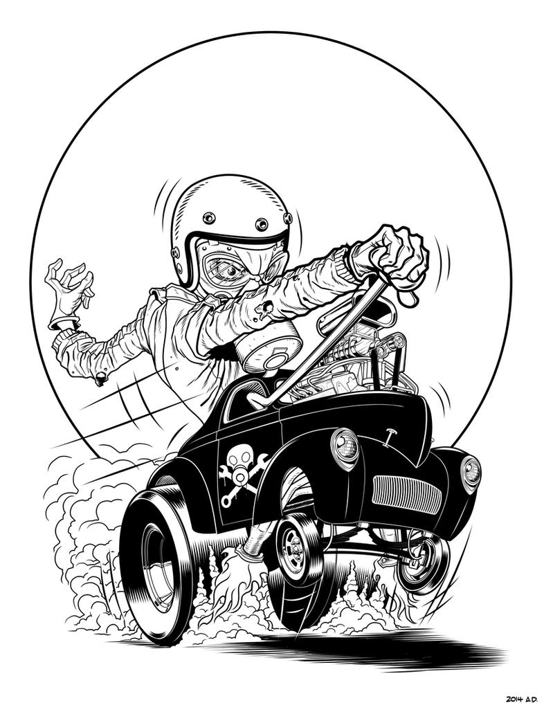Th' Gasser inked by angryrooster