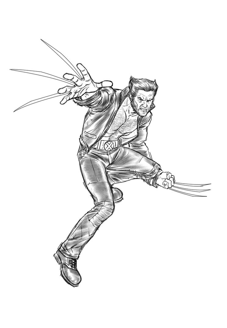 Wolverine by angryrooster