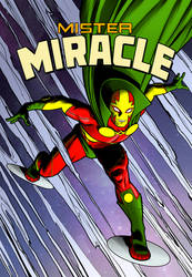 Mister Miracle in color