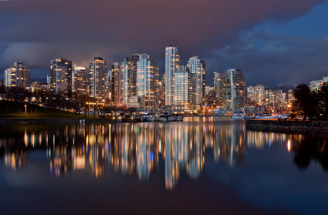 Vancouver Night by snacktime