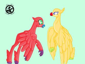 MLP Base 4 ( hippogriff ) by Keeka-Snake