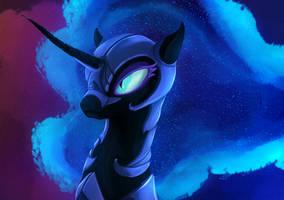 Nightmare moon by ThatFriendlySomeone
