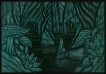 A Hollow Earth by tekelili