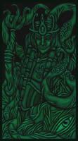 DreamlandsTarot - Card 15 by tekelili