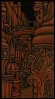 DreamlandsTarot - Card 21 or 0 by tekelili