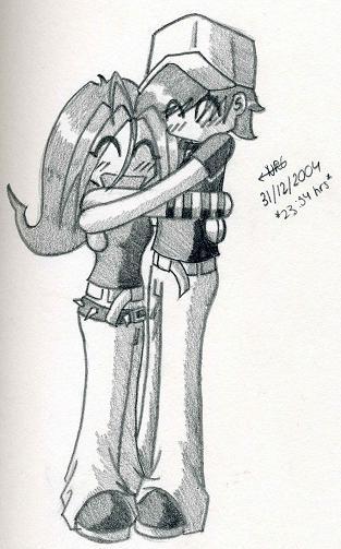 Me and Ian Hugging by Nicole-de-Groot