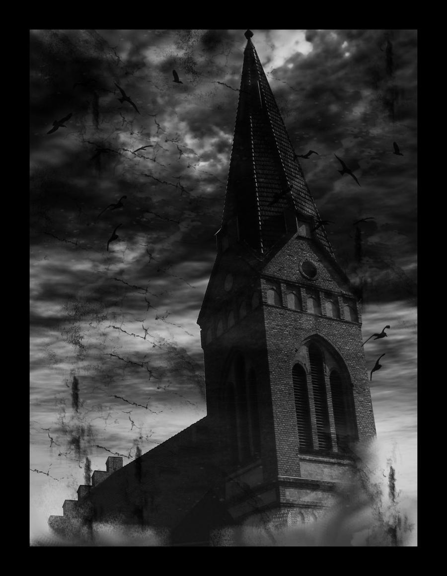 Gothic Church By Bloody Lady Bathory