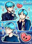 Taehyung Stickers