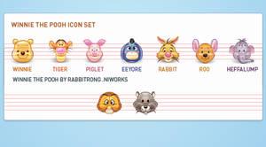 pooh icon set update