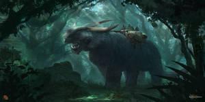 Sylfria Creature by FlorentLlamas